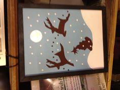 Reindeer craft project
