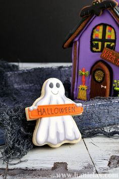 Halloween Ghost Cookies on Cake Central