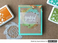 My Monthly Hero: Creativity in a Box September 2016 kit idea #1 by Jayne Nelson. Kit available for purchase Tuesday, September 6. #mymonthlyhero