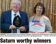 SM With any award/recognition, there are many people to acknowledge. Chamber Of Commerce, Business