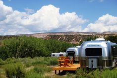 With a passion for Drive-Ins, shooting movies and Airstreams, Mark Gudenas (host and proprietor) built his dream Airstream Hotel Resort~ located in the heart of Southern Utah's Red Rock Cany…