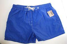 Xelos Blue Men Swim Trunks Shorts XXXL 3XL New NWT California #Xelosette #Trunks