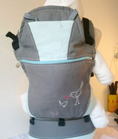 Dove Grey and turquoise baby carrier Baby Carriers, Dove Grey, Turquoise, Backpacks, Bags, Handbags, Green Turquoise, Backpack, Backpacker