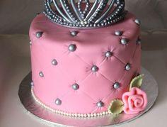 Mini (6inch) Version of Princess pillow cake