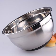 Nrpfell Stainless Steel Mixing Bowl with Non-Slip Silicone Base Kitchenware-21Cm #mixingbowls