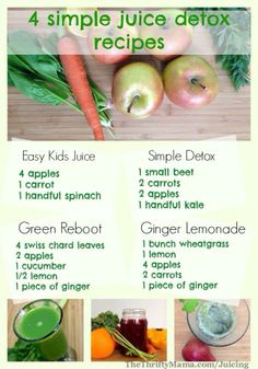 Looking for great recipes to match up with your detox? Here are some!  Make some of these now and don't forget to click SHARE. All-natural, delicious and healthy!