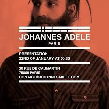 johannes adele aw16 invitation