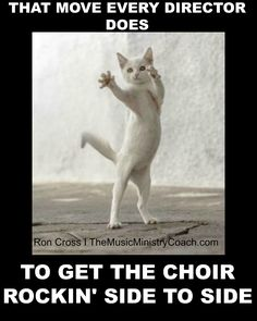 This is how every gospel choir director starts the choir to moving, lol!