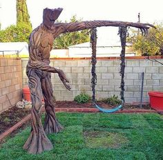 Groot swing set
