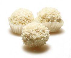 Raw Coconut Candy, Dairy-Free, Added Sugar -Free