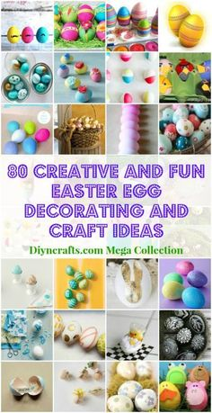 80 Creative and Fun Easter Egg Decorating and Craft Ideas - Page 4 of 8 - DIY & Crafts