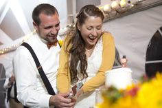 my fall wedding <3 Reception cake cutting. Pulz/Ball 2011