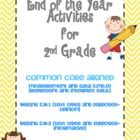 This pack is jam packed with different activities you could use with your students during the last few weeks of school.  While it was designed with...