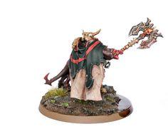 Khorgos Khul, Mighty Lord of Khorne   por Will Vale