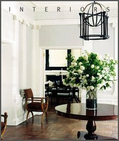 I like this room too. It's all in the details. Simplistic color palette, exquisite design.