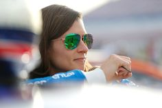 Danica Patrick Photos Photos - Danica Patrick, driver of the #10 Aspen Dental Ford, stands on the grid during qualifying for the Monster Energy NASCAR Cup Series Kobalt 400 at Las Vegas Motor Speedway on March 10, 2017 in Las Vegas, Nevada. - Las Vegas Motor Speedway - Day 1