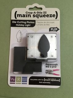 We R Memory Keeper Crop A Dile III Main Squeeze Die Cutting Plate Holiday Light | eBay