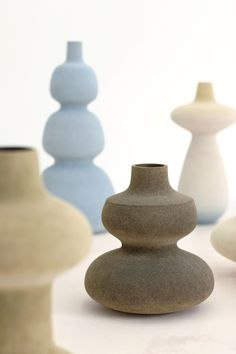 love these ceramics, the matte tones colors & forms! turi heisselberg pedersen
