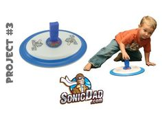 Foam Plate Hovercraft - SonicDad Project #3