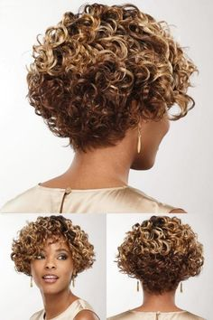 Pixie Haircut For Thick Hair, Curly Pixie Cuts, Short Curly Haircuts, Curly Bob Hairstyles, Short Hair Cuts, Curly Hair Styles, Natural Hair Styles, Pelo Afro, Chic Hairstyles