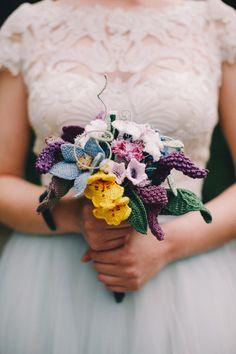 Crochet wedding flowers - Imgur