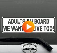 Honda LS Chevy toyota Civic Acura 2 Black Turbo Vinyl Decals For Price of 1