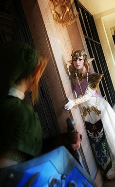 :: Link & Princess Zelda from The Legend of Zelda ::