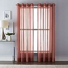 image of Wamsutta Grommet Top Sheer Window Curtain Panel