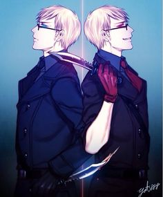 1p! VS 2p! Sweden ((OwO I really love this two))<<<< I love 2p Sweden so much it almost scares me