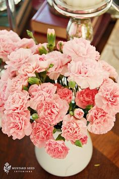 Valentines - love the spicy scent of carnations