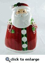Large Santa Cookie Jar from Studio 100 by Grasslands Road