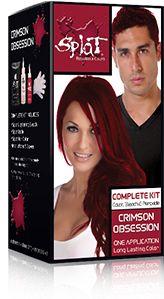 hmm   Splat Hair Colorsplat kit Crimson ObsessionHair color