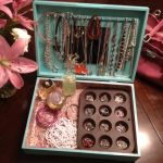My Silverware Jewelry Box.... Organize jewelry with this DYI jewelry box made from an old silverware box! Cute ideal for little girl