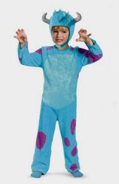 Disney Pixar Monsters University Sulley Toddler Classic Costume, Amazon Kids http://amzn.to/2e4F87W