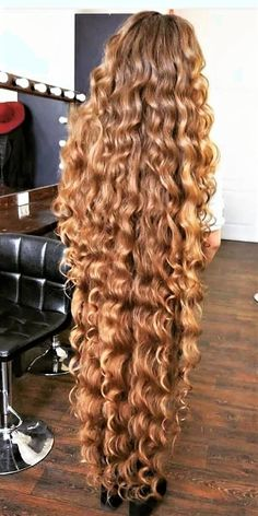 You might have taken your hair for granted right up until the day that you noticed some missing. That's just how it goes with hair is sometimes. You take hair Curls For Long Hair, Long Brown Hair, Super Long Hair, Long Curly Hair, Big Hair, Curly Girl, Black Hair, Short Hair, Cute Hairstyles Long