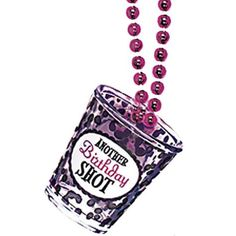 Another year of fabulous postcard invitations 93206 42nd bday birthday princess shot glass necklace 20in party city stopboris Image collections
