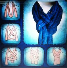 Cute New Way To Tie A Scarf :)