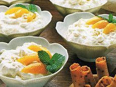 Crème aux abricots