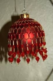 Image result for free beaded ornament cover patterns