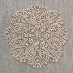 "diy_crafts- "" This delicate handmade fine cotton crochet doily will…"", ""Baby braids newest knitting patterns – Part ""This post was dis Crochet Doily Diagram, Crochet Doily Patterns, Crochet Mandala, Crochet Art, Cotton Crochet, Crochet Home, Thread Crochet, Crochet Motif, Crochet Designs"