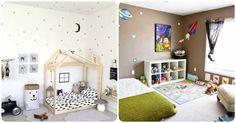 Resultado de imagem para montessori bedroom