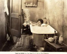 0 bath time - Myrna Loy in Ham and Eggs at the Front (1927)