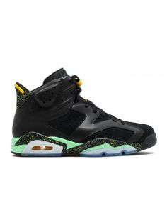 promo code 47fce 96292 Air Jordan 6 Retro Brazil Pack Black Green Yellow 688446 020 Jordan Retro  6, Jordan