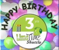 We cant believe its been 3 years already. We are turning 3 today and all of us at Limetime are truly humbled by the support we have received from our fantastic passengers and incredible staff. May you allow us to take you on many more kilometers accross this beautiful country. - Limetime Blog