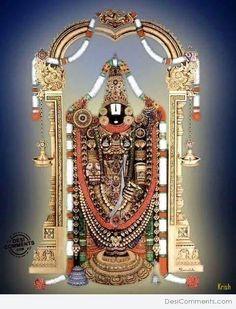 Picture Lord Balaji Of Tirupati