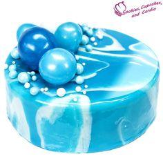 How to Make a Mirror Cake (Mirror Cake Glaze) ~ Cookies, Cupcakes, and Cardio