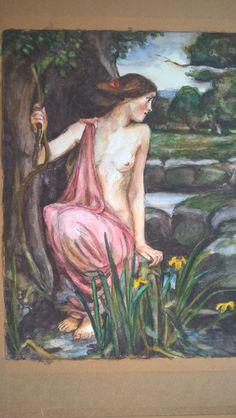 aqaurel, een detail Painting, Art, Shop Signs, Art Background, Painting Art, Kunst, Paintings, Performing Arts, Painted Canvas