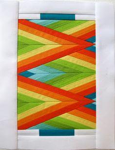 Pretty glorious block by Danielle Hudson of Fresh Off the Spool.