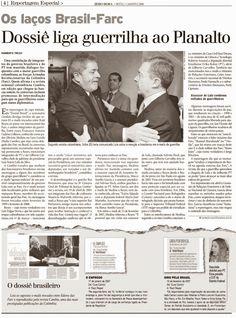 Folha Política: Farc estão infiltradas na 'alta esfera' no Brasil, segundo revista colombiana