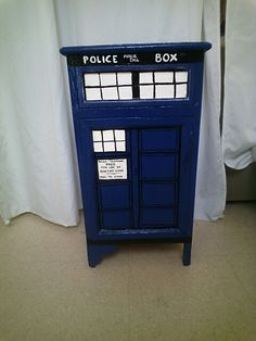 Commode doctor whoo